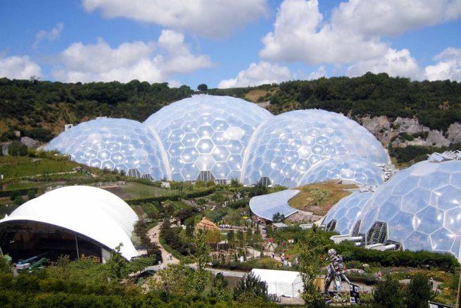 The Eden Project Biodomes